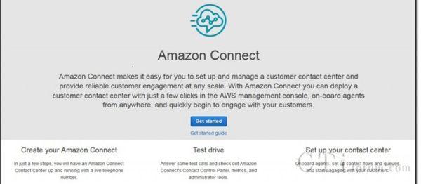 亚马逊云端客服Amazon Connect推出