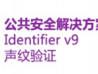 Nuance Identifier 公共安全解决方案