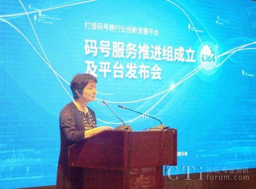 中国信息通信研究院技术与标准研究所所长王志勤讲话