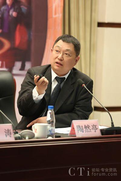 诺基亚和上海贝尔执行副总裁陶然亭先生