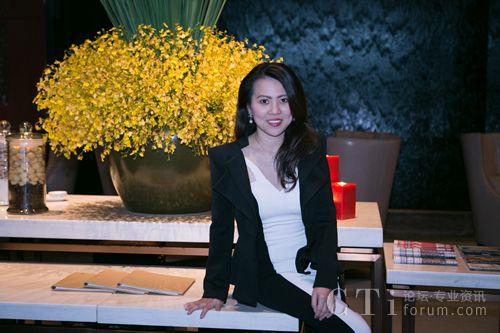 图:NICE亚太及中东战略地区董事总经理黄珍妮