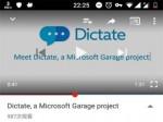 Cortana技术加持、微软车库推出Office语音输入插件Dictate