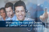 联络中心呼叫量的起伏管理