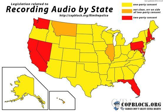 加州的电话录音法规在美国是最严厉的