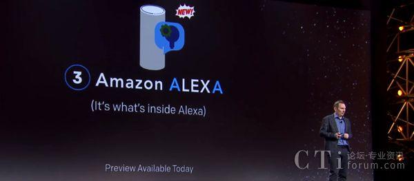 科技大厂纷纷投入开发Chatbot技术和应用,Amazon Echo在市场上广受欢迎,终于在今年4月正式释出数位助理Alexa背后Chatbot引擎Lex。图片来源/AWS