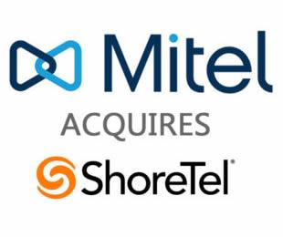 Mitel 宣布达成收购 ShoreTe...