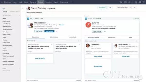 Zoho CRM与LinkedIn达成合作,助力企业社交营销