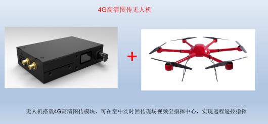 无人机--华平发布4G高清图传无人机