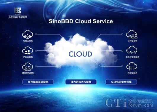 大数据--北京供销大数据集团发布SinoBBD Cloud一体化推动产业云发展