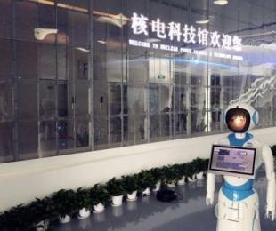 远传智能服务机器人亮相全国...