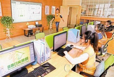 天津将建百家居家养老中心 呼叫中心贴心服务图片