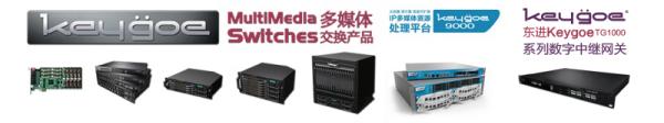 东进Keygoe多媒体交换机助力千米网打造新零售
