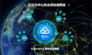 腾讯云发布Supermind智能网络以云为中心推动全球网络加速