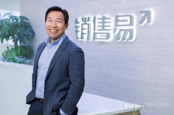 图为:销售易创始人&CEO史彦泽先生