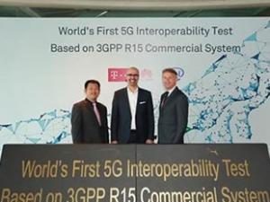德国电信、英特尔和华为完成首个5G新空口互操作测试