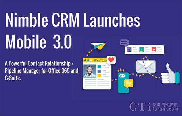Nimble推出移动CRM3.0