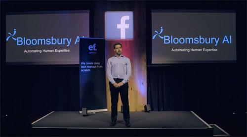 Facebook确认收购伦敦初创公司Bloomsbury AI