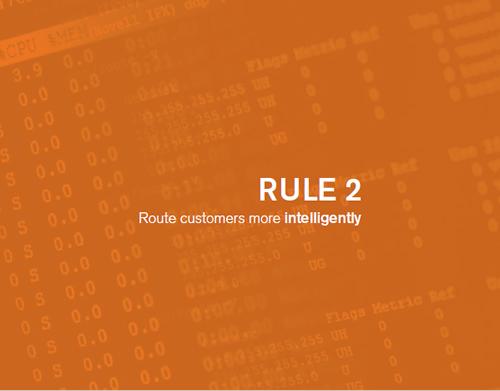 inbound联络中心新规则2:更智能地路由客户