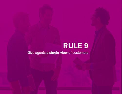 inbound联络中心新规则9:为座席提供客户的单一视图