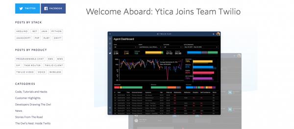 Twilio并购WFO新创Ytica,加强客服中心解决方案