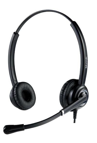 MRD-612系列呼叫中心专用抗噪耳机