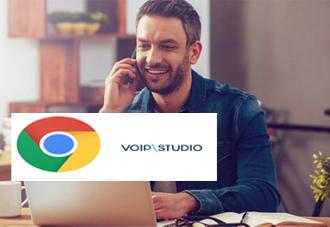 VoIPstudio从Chrome浏览器启动云呼叫