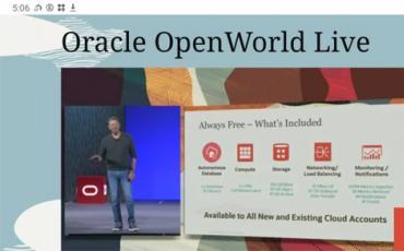 Oracle发布免费的自主数据库和云服务