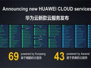 华为云发布112款云服务,加速企业智能化升级