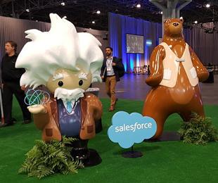 Salesforce在其CRM应用程序组...