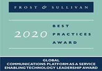 ALE被Frost&Sullivan授予2020...