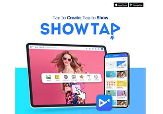 """屏上移动演示实时应用""""Showta..."""