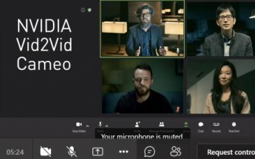 重塑视频会议NVIDIA Vid2Vid Cameo打造逼真的AI人脸说话动态