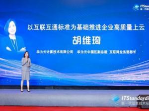 华为云胡维琦:以互联互通标准为基础推进企业高质量上云